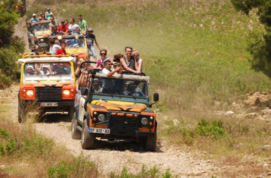 Jeep Safari and White-Water Rafting...