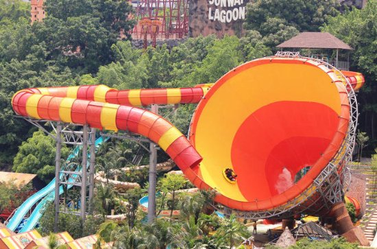 Sunway Lagoon Admission Ticket with...