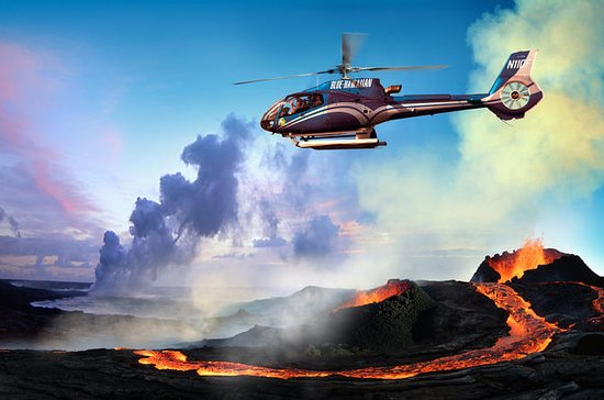 Helicopter Tour of Hawaii Volcanoes...