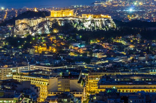 Athens by Night: 4-Hour Private Guided Tour