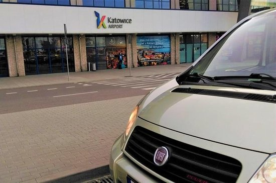 Katowice Airport Transfer to Krakow up to 4pax