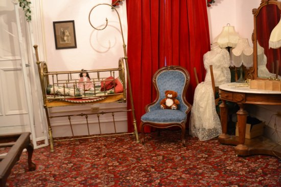 Eureka, NV: One of the known haunted rooms
