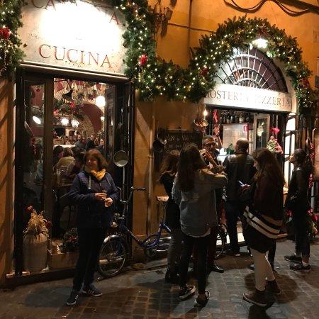 20171201 182326 picture of cantina cucina rome tripadvisor - Cucina e cantina ...