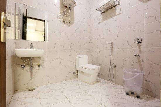 Bild fr n hotel capital airport new delhi for Washroom photo