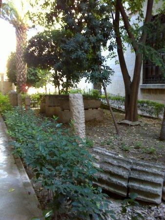 Museo de Jaén: Jardín.