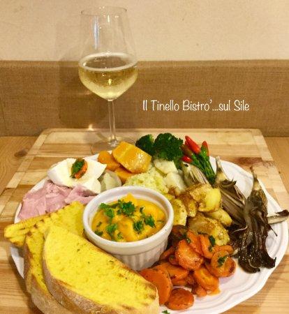 Dove pranzare a Casale sul Sile?...Al Tinello Bistro' MENÙ NATURALE con vino Bio o centrifuga 11