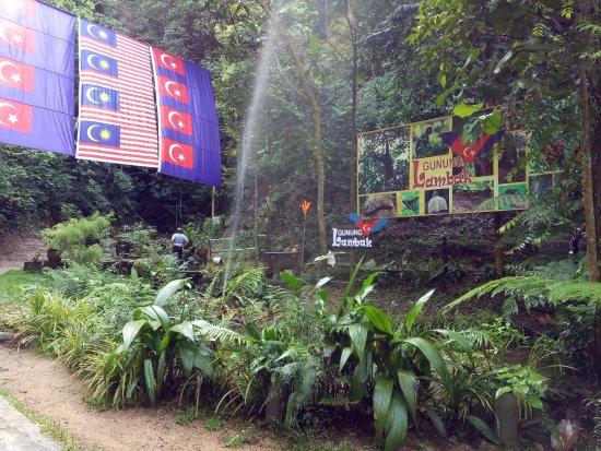Near The Entrance Picture Of Gunung Lambak Kluang Tripadvisor
