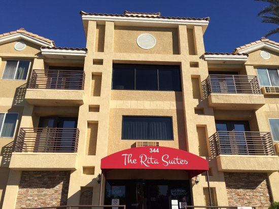 This is the actual picture of The Rita Suites