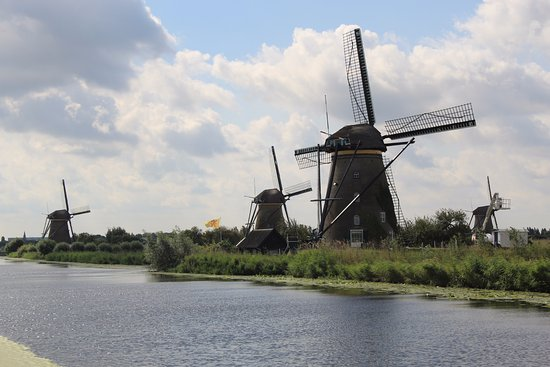 The Netherlands: Kinderdijk
