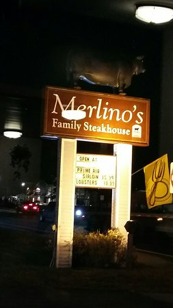 ‪‪Merlino's Family Steakhouse‬: 20171201_173254_large.jpg‬