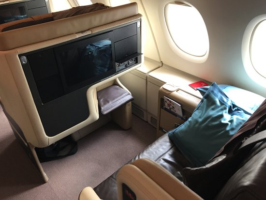 Singapore Airlines Sitz 14k Im A380 Hkg Sin