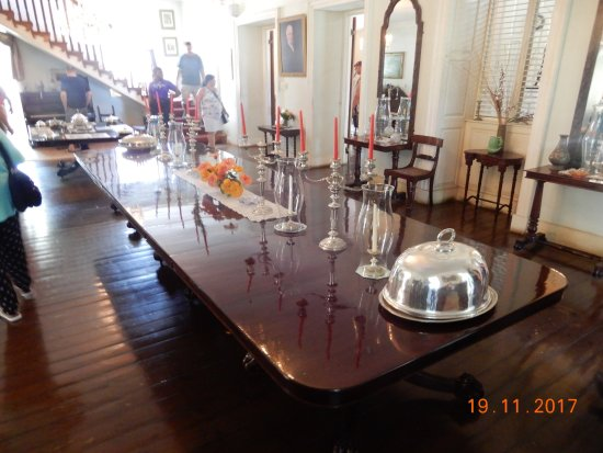 Sunbury Plantation House: Some Of The Furniture And Artefacts Inside The  House