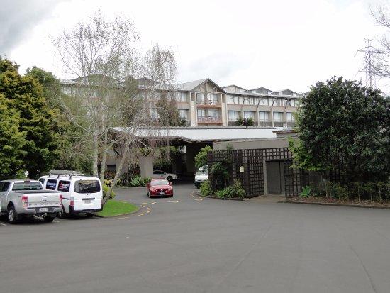 Mount Wellington, Nova Zelândia: Vista da entrada principal