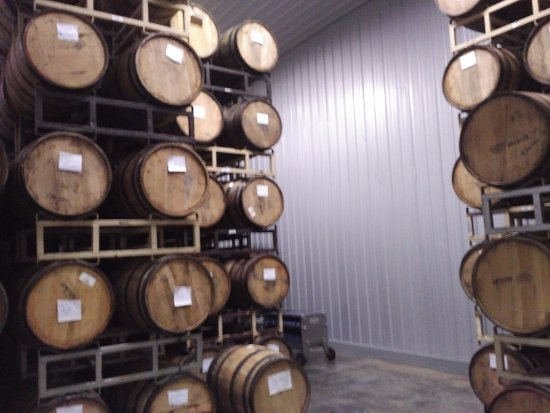 Arrington, VA: Some beers are aged in barrels that once held whiskey and other spirits.