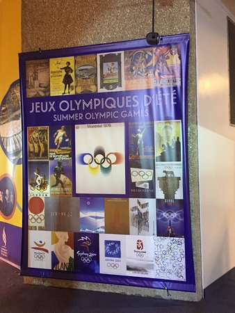 Olympic Park (Parc olympique): Olympic Games display