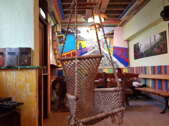 Графство Вустершир, UK: Francini Cafe De Colombia