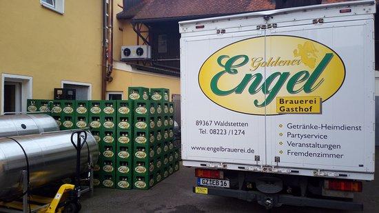 Waldstetten, ألمانيا: Il birrificio annesso al Gasthof