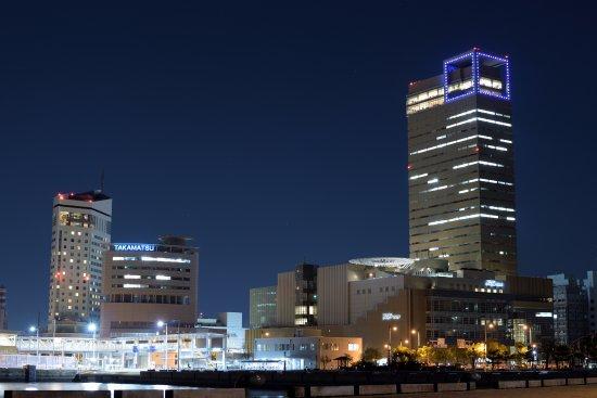シンボルタワー遠景 - 高松市、...