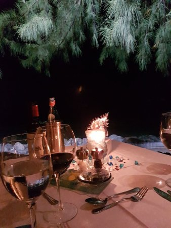 Holetown, Barbados: Perfect table