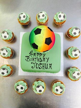 Enfield, UK: Happy birthday  JOSHUA  from LA ROCCA.......