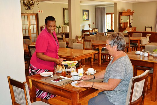 Addo, South Africa: Complementary Breakfast