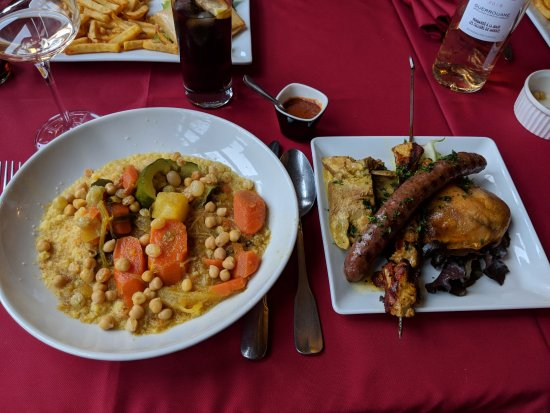 Vin Guerrouane Photo De La Table Marocaine Andresy Tripadvisor