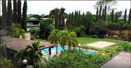 Hotel Tropika Davao: Room #201 View