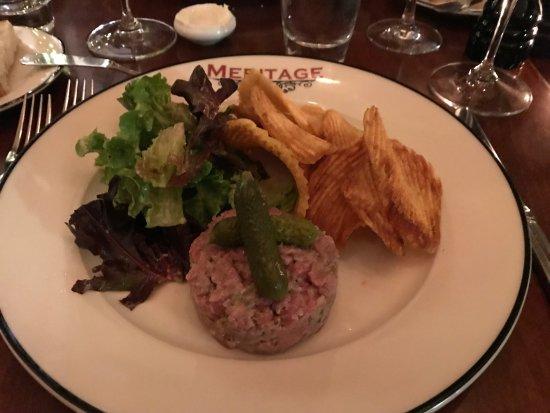 Meritage : Steak Tartare