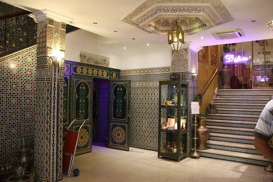 Hotel Mounia: de entree
