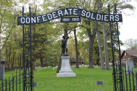 Marblehead, OH: Johnson's Island Confederate Cemetery