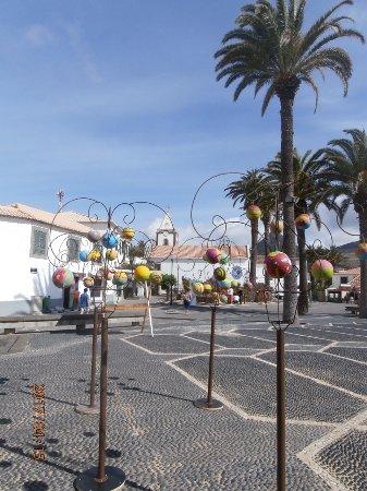 Igreja de Nossa Senhora da Piedade: Piazza e sullo sfondo la bella Chiesa