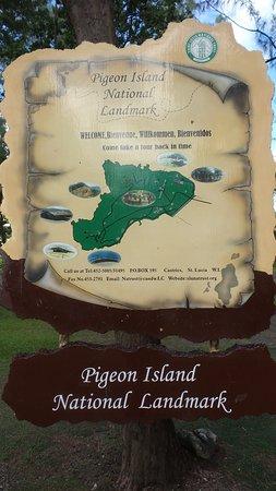 Cap Estate, Saint Lucia: Pigeon Island