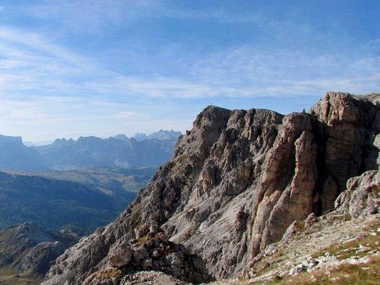 Cortina d'Ampezzo, Italy: La cima del Piccolo Lagazuoi
