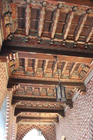 Borgo Medievale: particolare di un soffitto