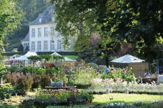 Lasne, เบลเยียม: vue sur les jardins