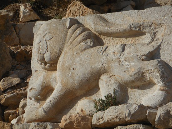 Golan Heights: Sculpture dans la forteresse