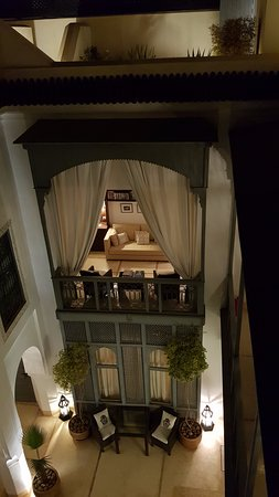 Riad Adore: View of the Courtyard