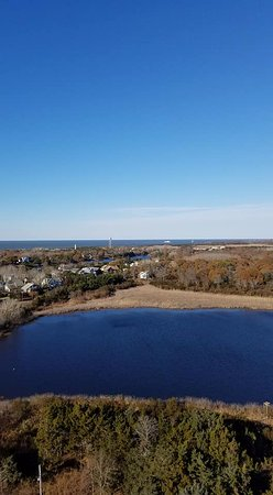 Cape May Lighthouse : View from Top of Lighthouse