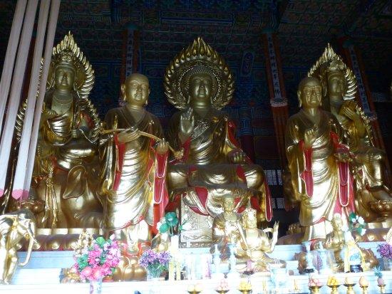 Dali, Çin: L'interno di un tempio