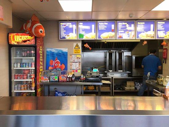 Wellingborough, UK: Inside of the Shop