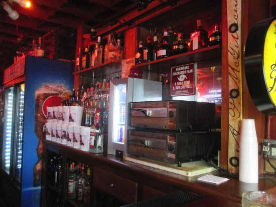 Hudson, WI: Back bar