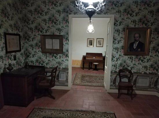 Museo Zorrilla: Partes de la casa