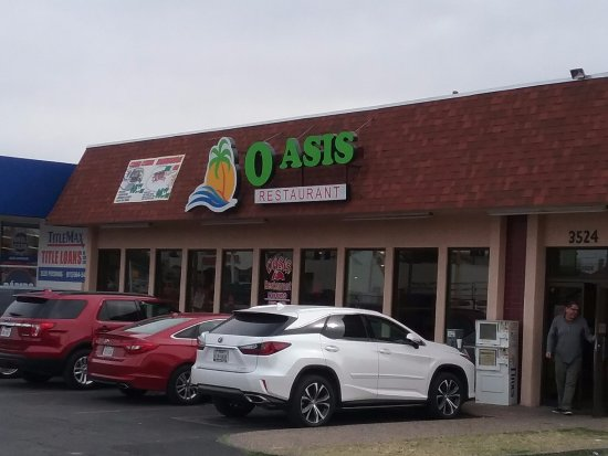 Front of restaurant picture oasis el paso