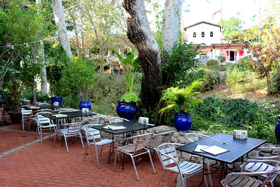 Creekside Patio Picture Of Bliss Cafe San Luis Obispo
