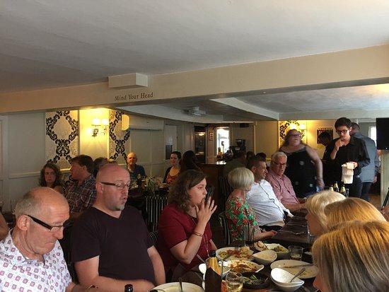 Royston, UK: The restaurant