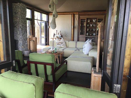 Ngala Private Game Reserve, Afrika Selatan: Lounge