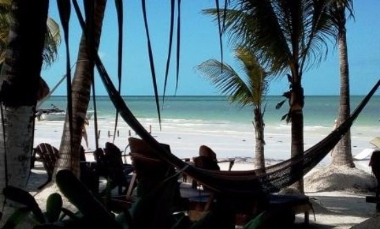 Beachfront La Palapa Hotel Adult Oriented: Picture yourself here....