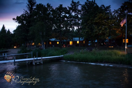 Park Rapids, MN: Relaxing around the campfires after day of fishing.