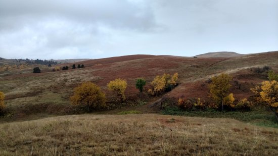 Kyle, SD: Fall on the reservation