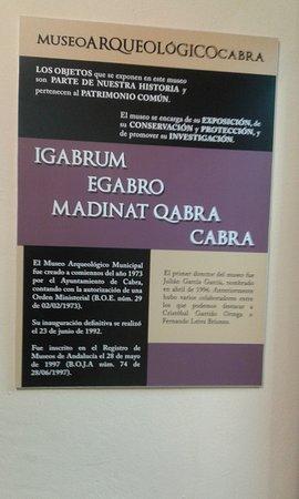 los nombres anteriores de Cabra